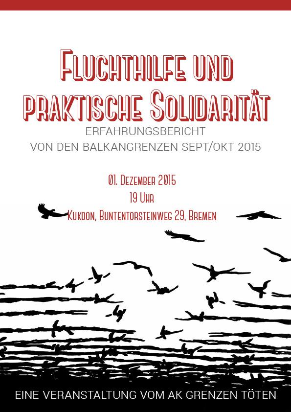 Fluchthilfe und praktische Solidarität